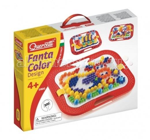 Quercetti Мозаика Фантастические цвета (300 деталей) 3 размеров