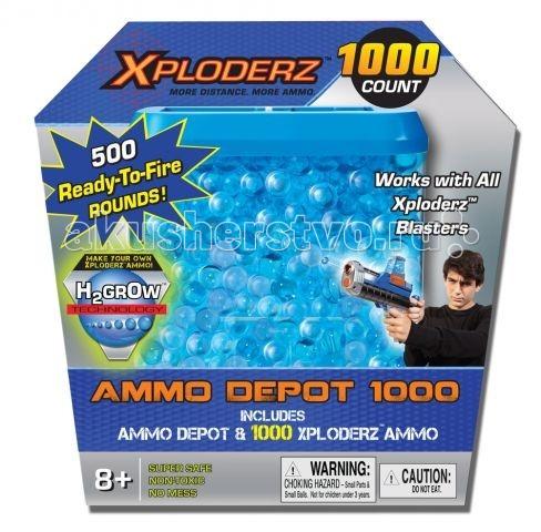 Xploderz Магазин с патронами + гранулы к бластеру