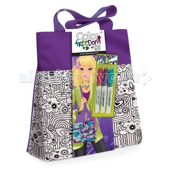 Wooky Style Me Up Лиловая сумочка