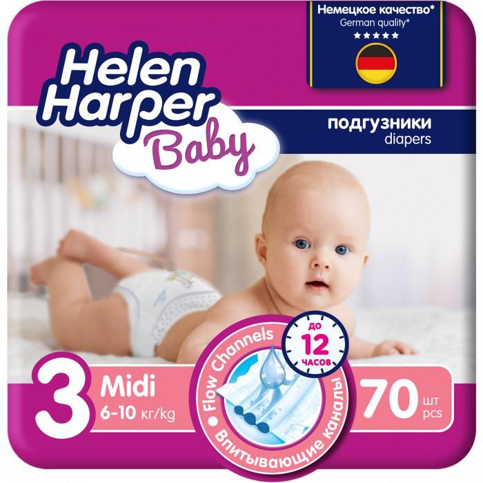 Helen Harper Подгузники Baby Midi (4-9 кг) 70 шт.