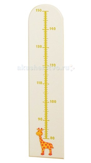 Pali Ростомер Gigi and LeleРостомер Gigi and LeleРостомер из коллекции Pali Gigi and Lele для детской комнаты.  Станет дополнительным украшением детской комнаты. Украшен аппликацией в виде жирафика.  Материал - дерево  Размер: 1.5x19x85 см<br>
