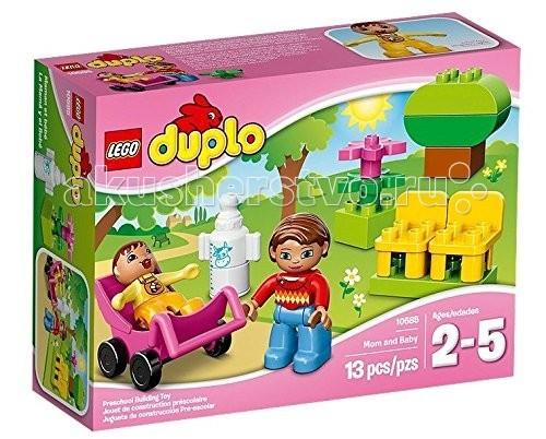 Конструктор Lego Duplo 10585 Лего Дупло Мама и малыш