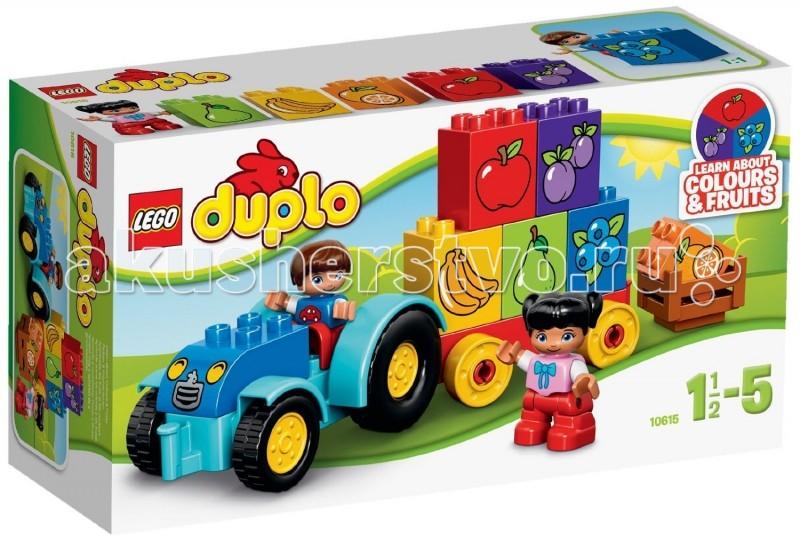 Конструктор Lego Duplo 10615 Лего Дупло Мой первый трактор