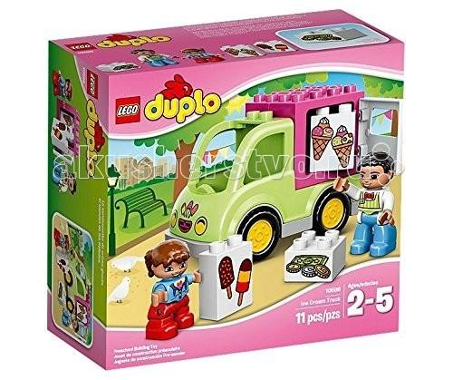 Конструктор Lego Duplo 10586 Лего Дупло Фургон с мороженым