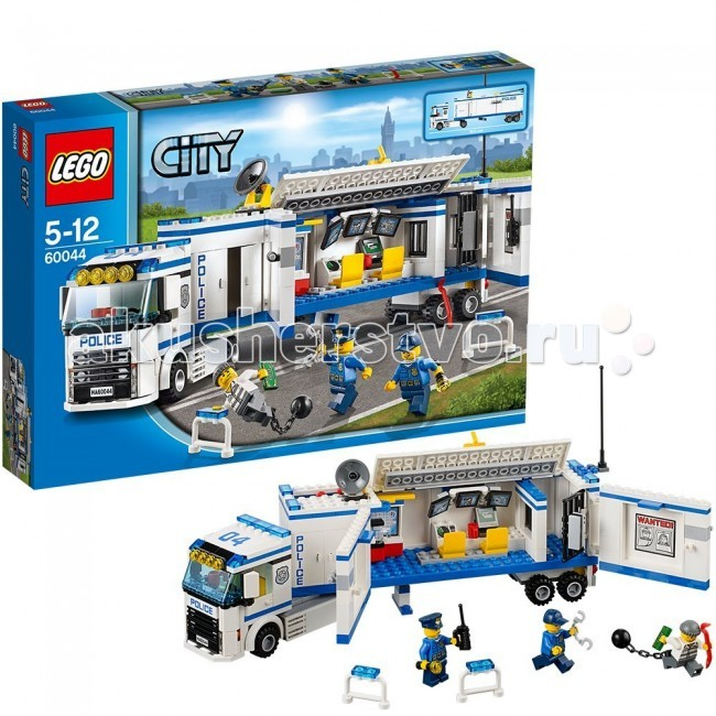 Конструктор Lego City 60044 Лего Город Выездной отряд полиции