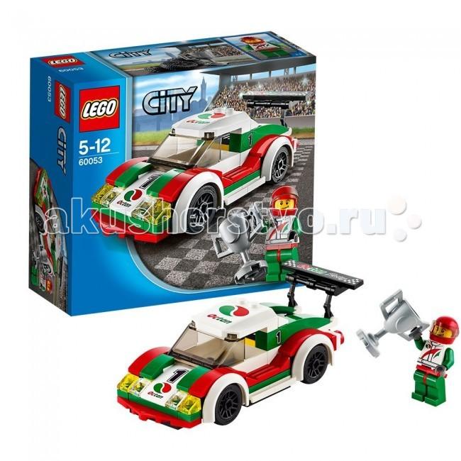 Конструктор Lego City 60053 Лего Город Гоночный автомобиль