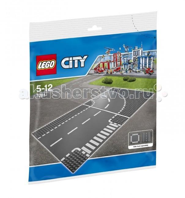 Конструктор Lego City 7281 Лего Город Т-образная развязкаCity 7281 Лего Город Т-образная развязкаКонструктор Lego City 7281 Лего Город Т-образная развязка состоит из 2 элементов.  Пластина Т-образная развязка предназначена специально для игр с машинками LEGO City.   На пластину нанесена дорожная разметка.  Пластина состоит из двух участков дороги.  С помощью такой пластины можно создавать сложные трассы и превратить игру в настоящие приключения!  Количество деталей: 2 шт.<br>