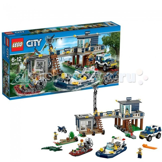 Конструктор Lego City 60069 Лего Город Участок новой лесной полиции