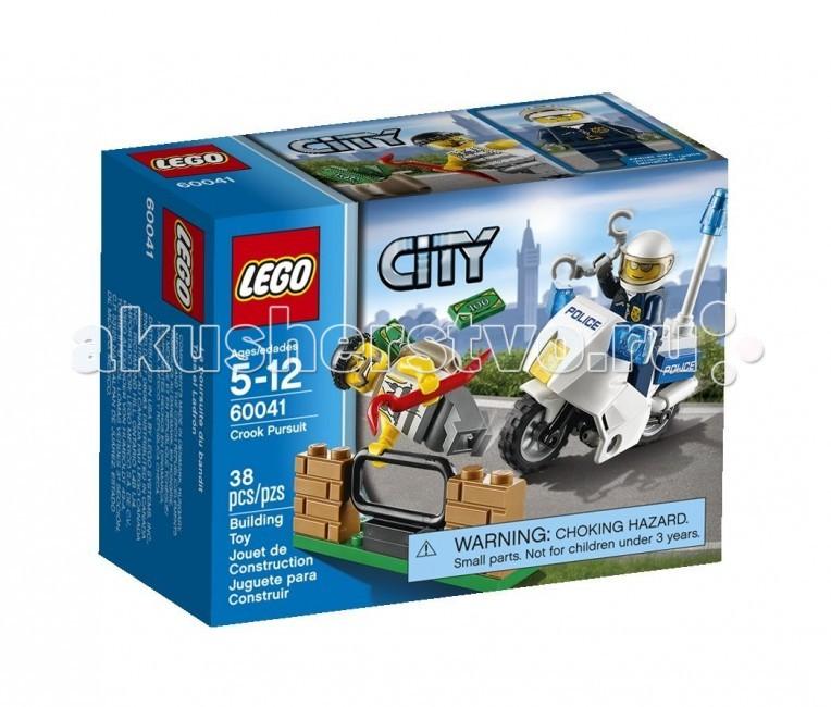 Конструктор Lego City 60041 Лего Город Погоня за воришкой
