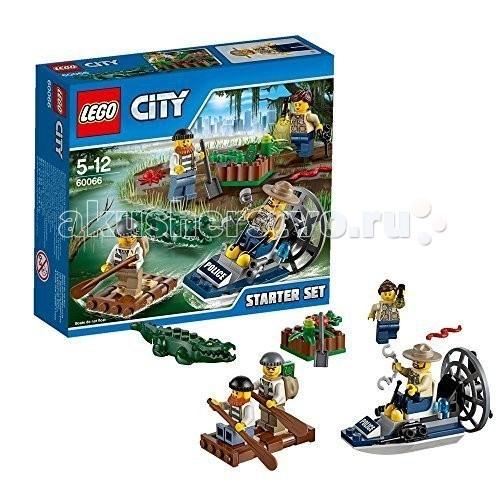 Конструктор Lego City 60066 Лего Город Новая лесная полиция для начинающих