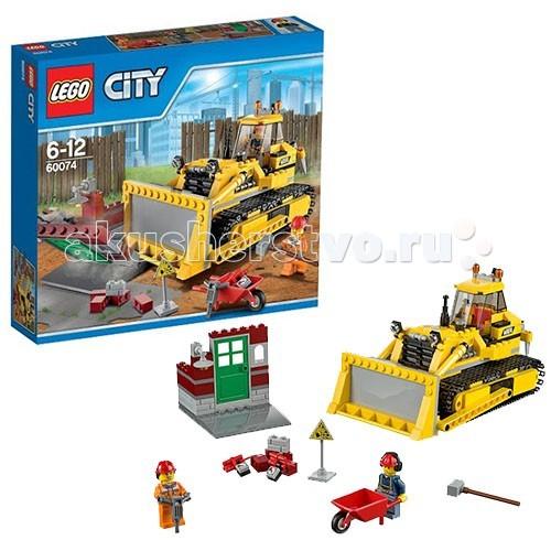 Конструктор Lego City 60074 Лего Город Бульдозер