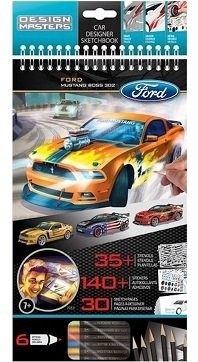 Wooky Design Masters Блокнот Ford Mustang