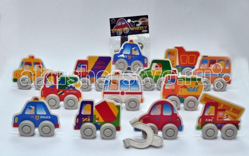 Заводные игрушки Hans Заводная игрушка Магнитный автомобильчик