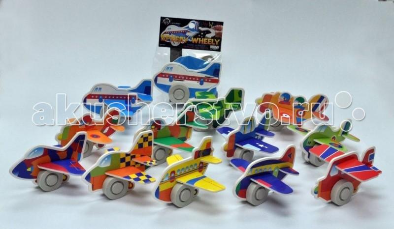 Заводные игрушки Hans Заводная игрушка Магнитный скоростной самолетик