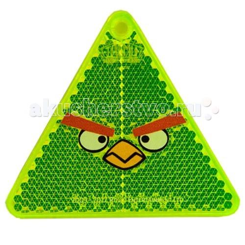 Защита на прогулке MiniMax Светоотражатели Coreflekt Angry Birds Classic