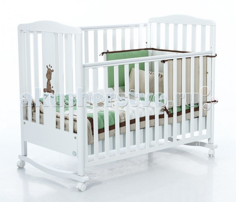 Детские кроватки Bambolina Raffy 120х60