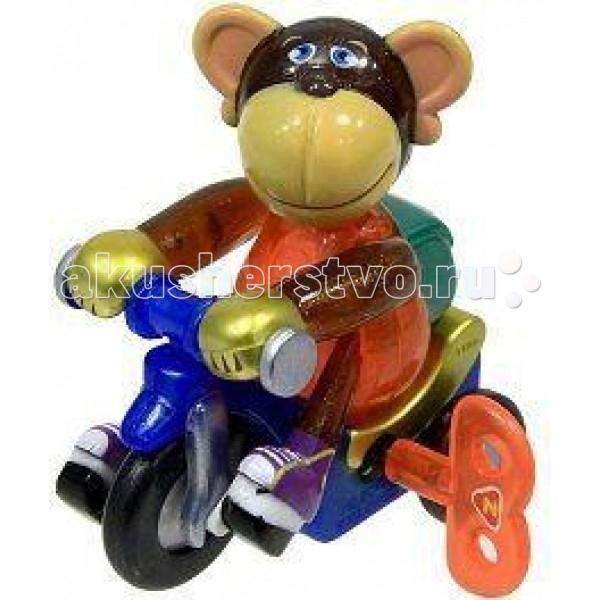 Заводные игрушки Z-Wind Ups Заводная игрушка Мартышка на велосипеде мо