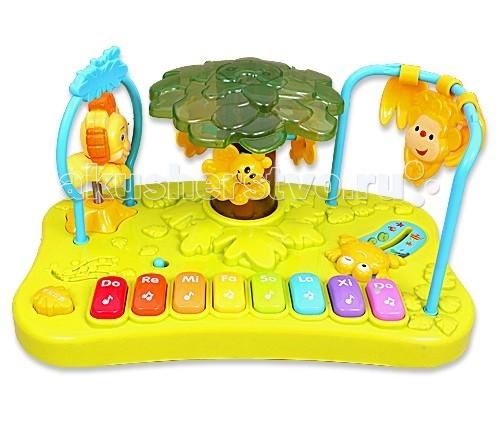 Музыкальная игрушка Royalcare Пианино Веселые Джунгли