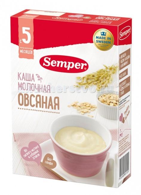Semper Молочная овсяная каша с 5 мес. 200 г
