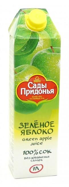 Сады Придонья Сок из зеленых яблок с 3 лет. 1 л