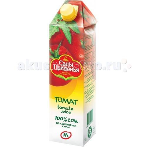 Сады Придонья Сок томатный с 3 лет. 1 л