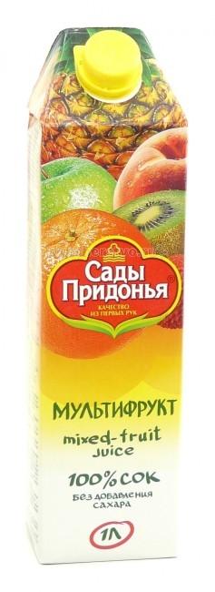 Сады Придонья Сок мультифруктовый с 3 лет. 1 л