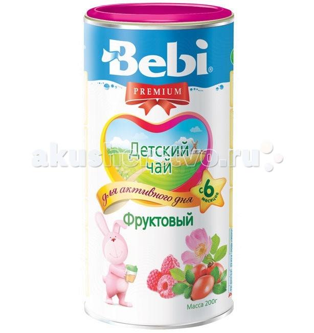 Чай Bebi Чай Premium гранулированный Фруктовый с 6 мес. 200 г
