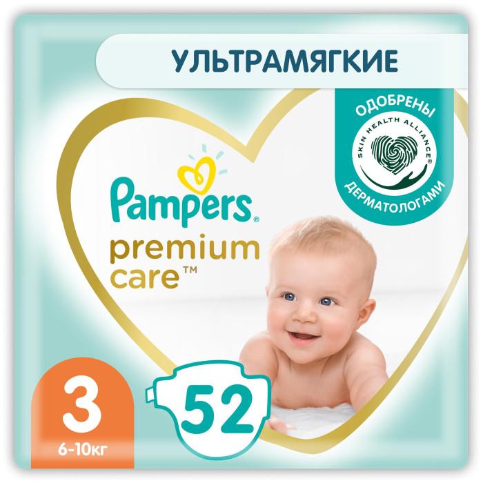 Pampers Подгузники Premium Care Эконом р.3 (5-9 кг) 60 шт.
