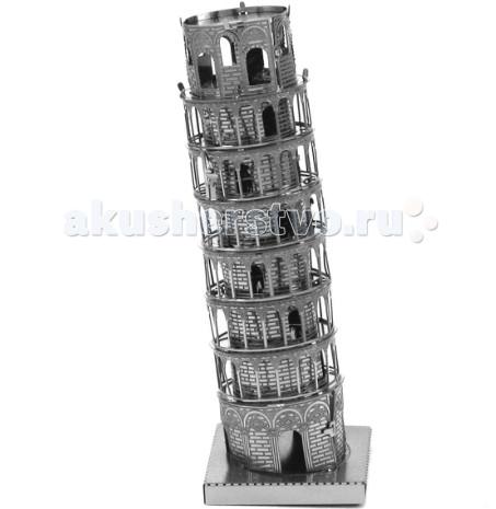 Конструктор Metalworks Сборная металлическая модель Пизанская башняСборная металлическая модель Пизанская башняСборная металлическая модель METALWORKS MMS046 Пизанская башня.  Сборная металлическая модель METALWORKS Пизанская башня позволит Вам и Вашему ребенку собрать масштабную металлическую конструкцию в виде достопримечательности Италии - Падающая башня! В набор входят металлические элементы для сборки модели и подробная схема сборки. Все детали соединяются с помощью усиков, которые вставляются в соответствующие прорези.  Собранная металлическая модель станет красивым дополнением к вашему домашнему интерьеру или оригинальным подарком для друзей и близких! Модель для сборки отлично развивает мелкую моторику, интеллектуальные способности, воображение и конструктивное мышление, тренирует терпение и усидчивость.  В набор входит: детали для сборки схема-инструкция.<br>