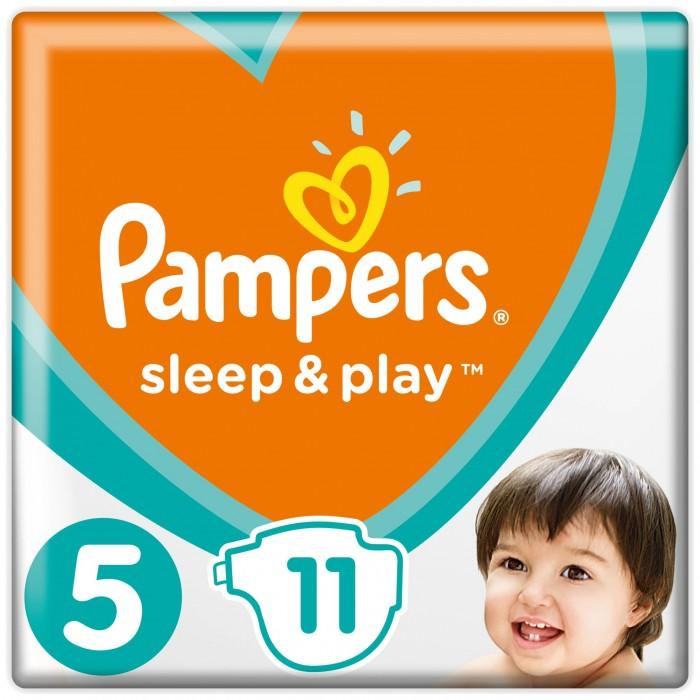Pampers Подгузники Sleep & Play Стандарт р.5 (11-18 кг) 11 шт.