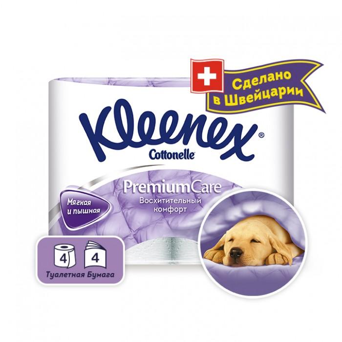 Kleenex Туалетная бумага Premium Comfort 4 шт. Туалетная бумага Premium Comfort 4 шт. .4284150.