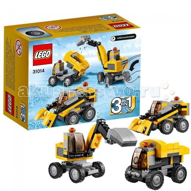 Конструктор Lego Creator 31014 Лего Криэйтор Мощный экскаватор