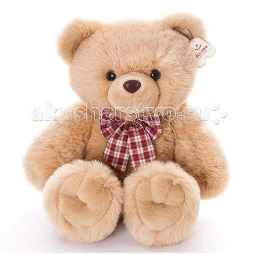 Мягкая игрушка Aurora Медведь с клетчатым бантом 56 см 10-317/1