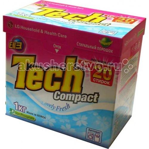 Моющие средства LG H&H Стиральный порошок Тэк Компакт Lovely Fresh 1 кг