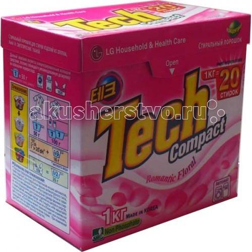 Моющие средства LG H&H Стиральный порошок Тэк Компакт Romantic Flora 1 кг