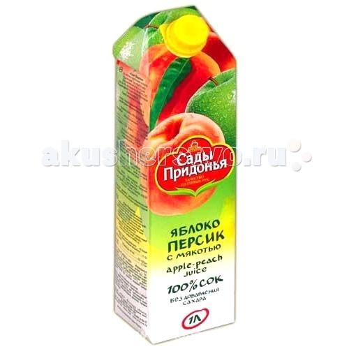 Сады Придонья Сок яблоко персик с 3 лет 1 л