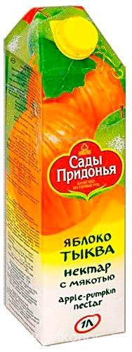 Сады Придонья Сок яблоко тыква с 3 лет 1 л