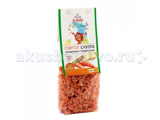 Макароны Pasta la Bella Baby Макароны Паста с морковью с 18 мес. 250 г