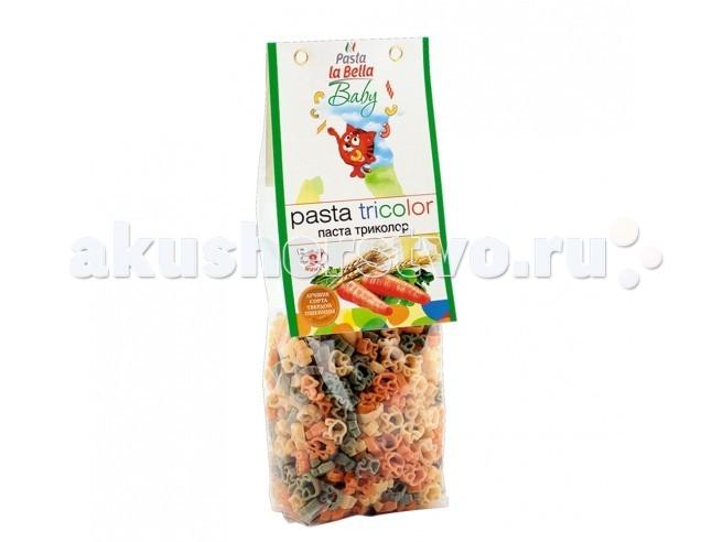 Макароны Pasta la Bella Baby Макароны Триколор с 18 мес. 250 г