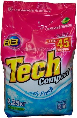 Моющие средства LG H&H Стиральный порошок Тэк Компакт Lovely Fresh 2.25 кг