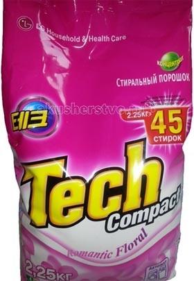 Моющие средства LG H&H Стиральный порошок Тэк Компакт Romantic Floral 2.25 кг
