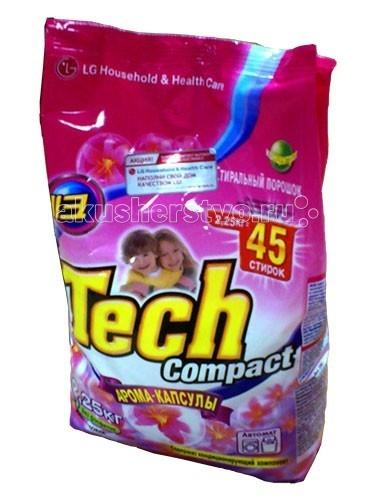 Моющие средства LG H&H Стиральный порошок Тэк Компакт Арома капсулы 2.25 кг