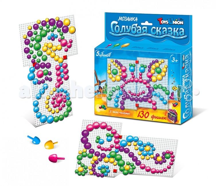 ToysUnion Мозаика Цветные сказки Голубая сказка