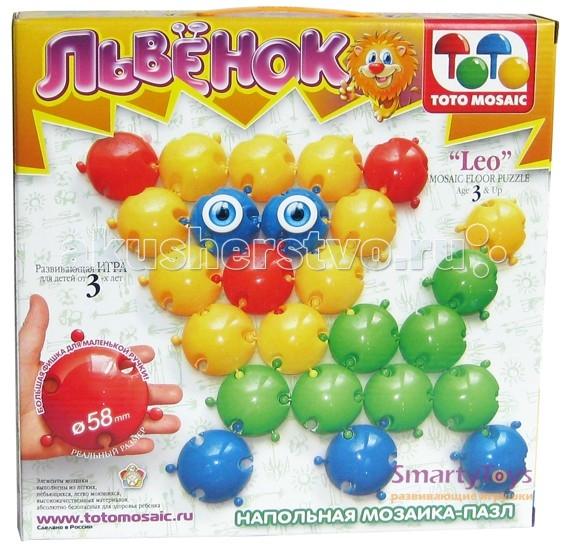 ToysUnion Мозаика напольная львенок (25 элементов)