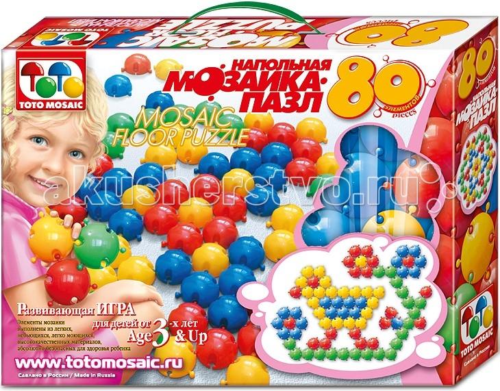 ToysUnion Напольная мозаика (80 фишек)