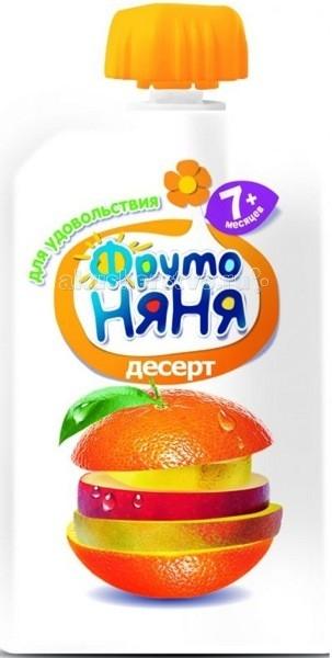 ФрутоНяня Десерт из яблок, бананов, апельсинов и манго с 7 мес. 90 г