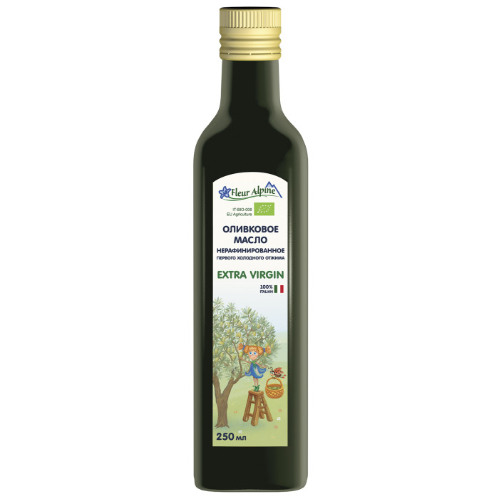 Fleur Alpine Детское оливковое масло 250 мл