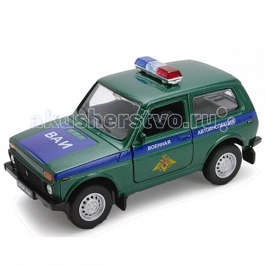 Welly ������ ������ 1:34-39 Lada 4x4 ������� ������������� 42386MC