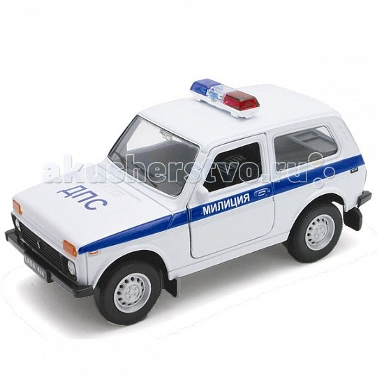 Welly ������ ������ 1:34-39 Lada 4x4 ������� ��� 42386PB