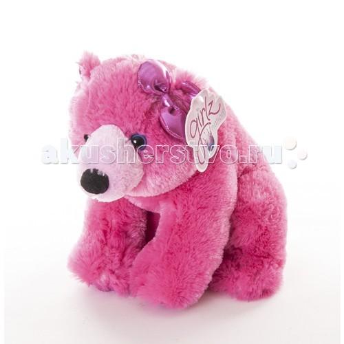 Мягкая игрушка Aurora Медведь розовый 30 см 30-602